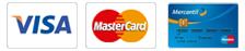 Visa-Master- Mercantil